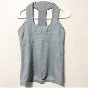 Lululemon | Gray Halter Workout Top